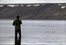 Kleifarvatn, vötn á Reykjanesi.
