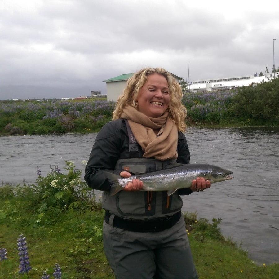 Anna Sif Jónsdóttir, Elliðaárnar