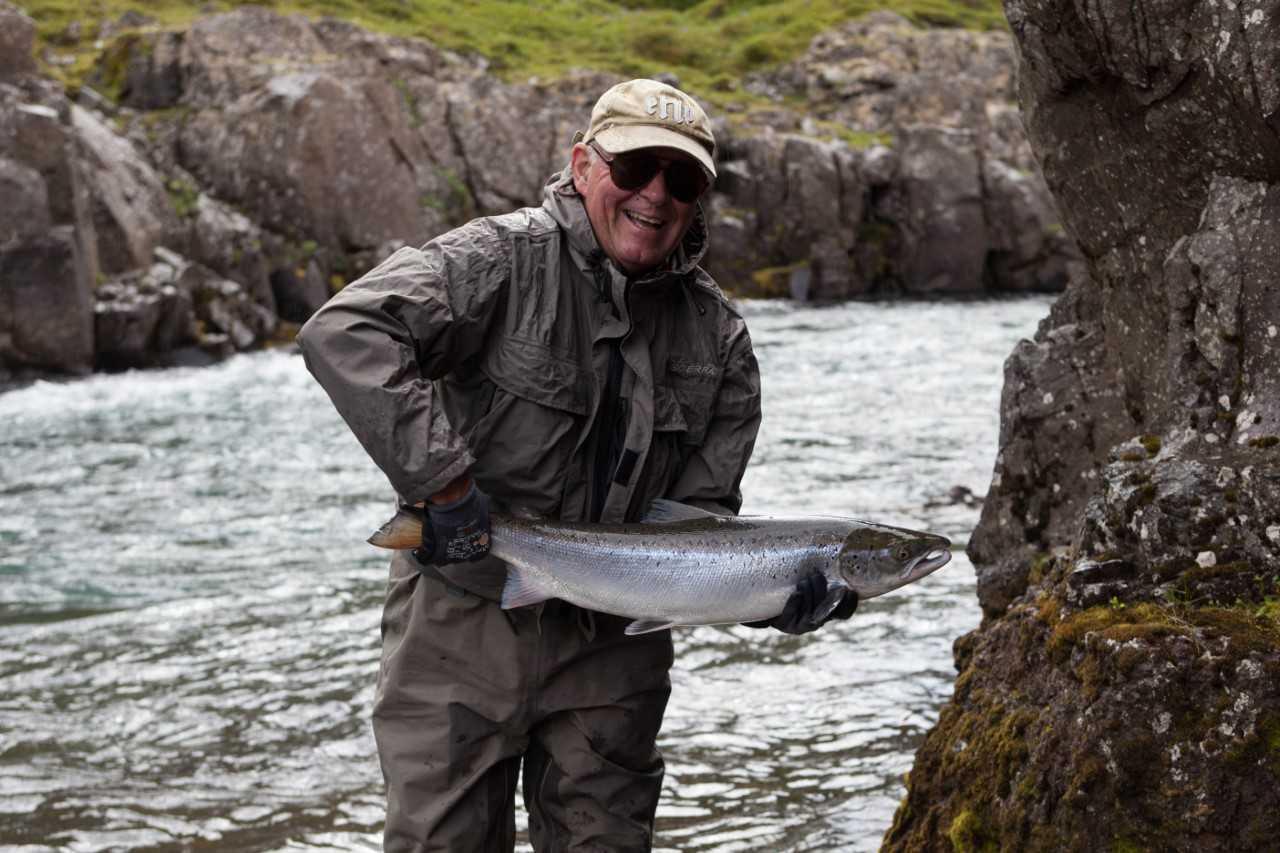 Hafralónsá, Sveinn Björnsson