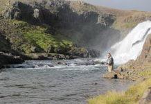 Straumfjarðará, Rjúkandi