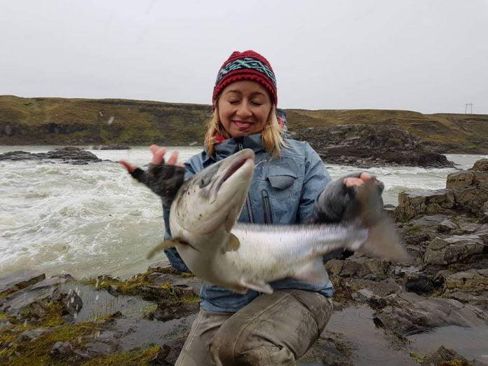 Þjórsá, Urriðafoss, Harpa Hlín