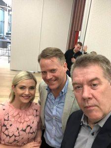 Eggert Skúlason, Lilja D. Alfreðsdóttir