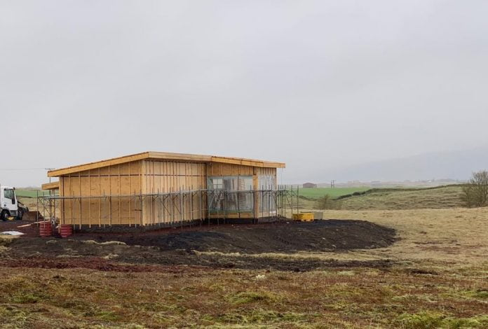 Veiðihús við Tungulæk